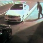 VIDEO: Thief tries to break car window with brick, gets knocked out by rebound