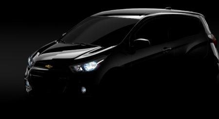 new 2016 Chevrolet Spark Teaser image