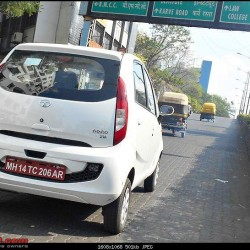 Tata Nano Twist Active With F-Tronic Spied in Pune