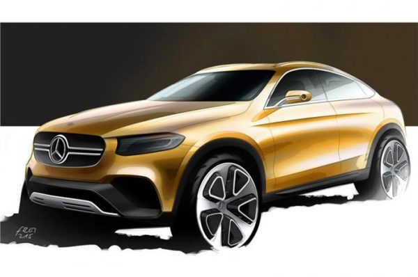 Mercedes-Benz GLC Coupé sketch