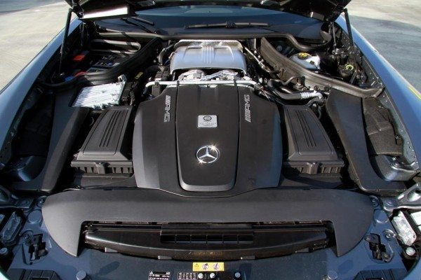 AMG 4.0-litre twin-turbo V8