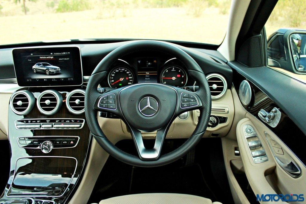 new 2015 Mercedes C Class India