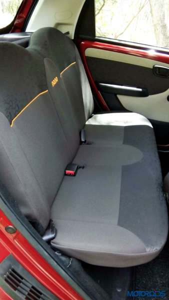 2015 Tata Nano GenX Rear seat space(9)