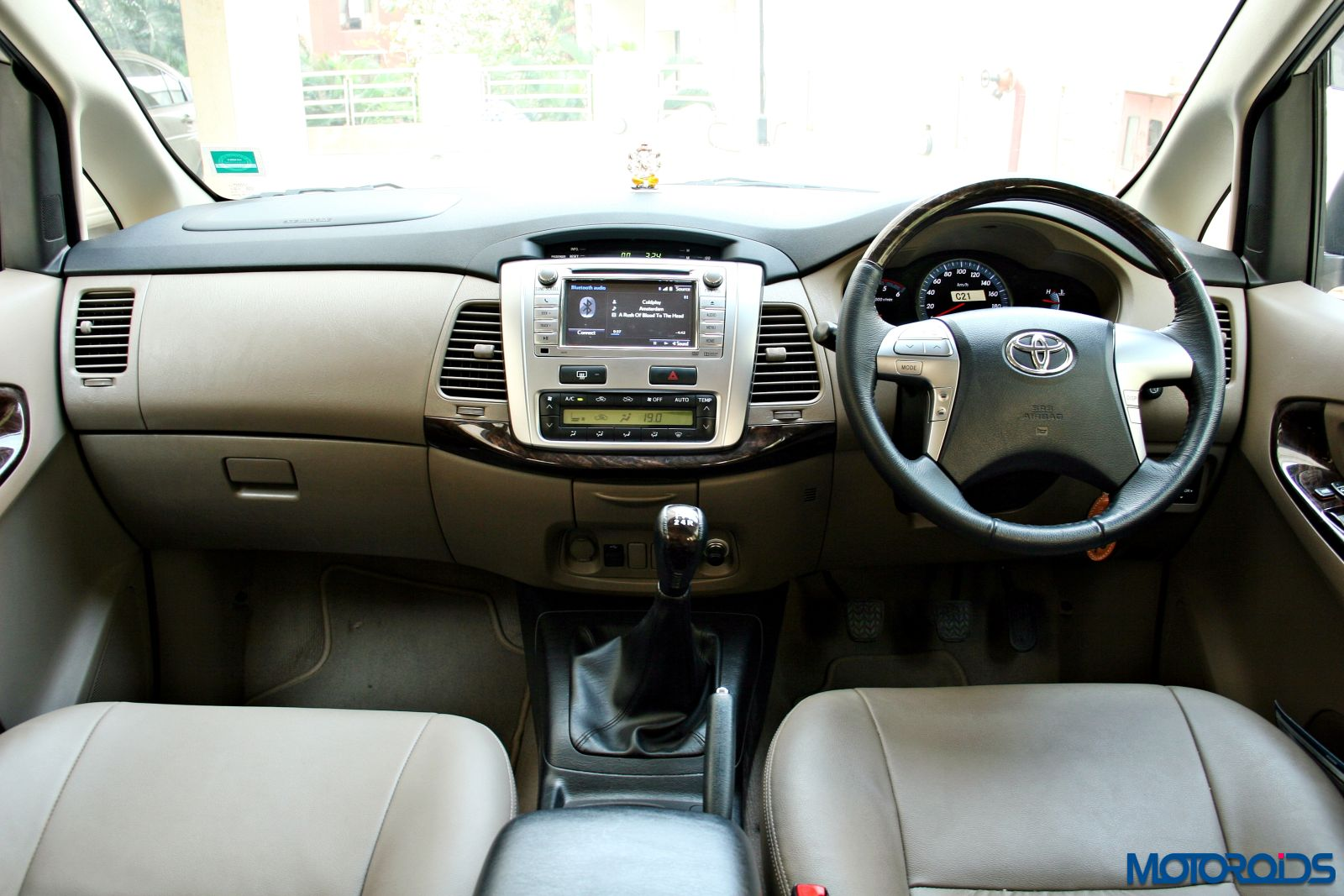 2015 Toyota Innova Car Interior Design