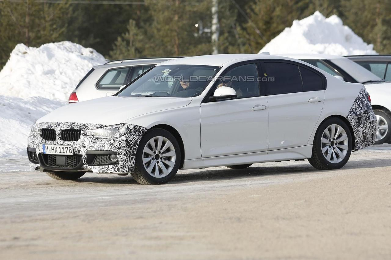 2016 bmw 3 series prototypes spied testing. Black Bedroom Furniture Sets. Home Design Ideas
