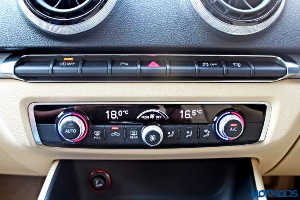 Audi A3 Cabriolet Center Console