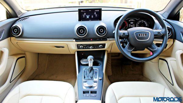 Audi A3 Cabriolet Dashboard