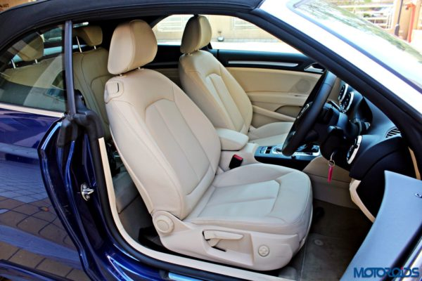 Audi A3 Cabriolet Front Seats (1)