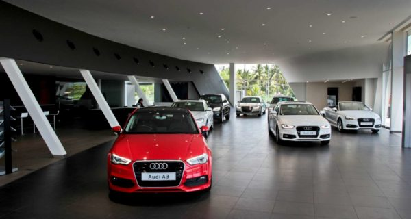 Audi Madurai Dealership Interior