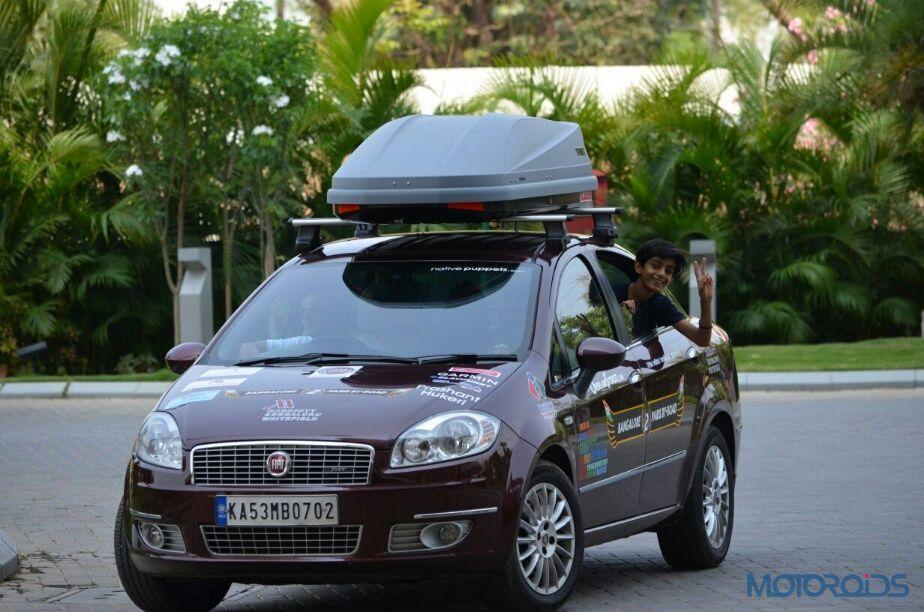 cars fiat linea heads bangalore paris expedition