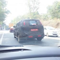SPIED: Chevrolet Trailblazer SUV caught during test runs in Trivandrum
