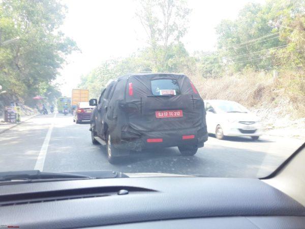 Chevrolet Trailblazer Spied - 1