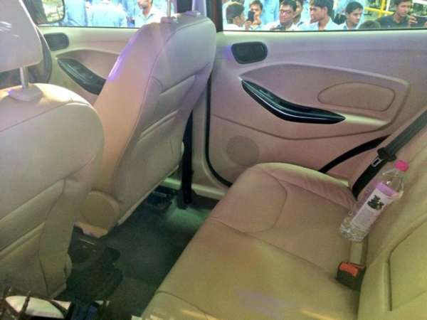 Ford Figo Aspire Rear Seats