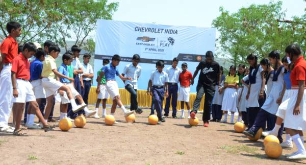 GM India Celebrates Day of Play at Government School near Pune -2