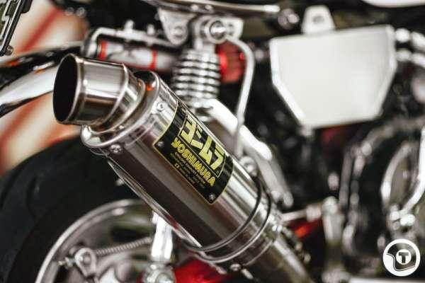 Honda Z50 Yoshimura exhaust