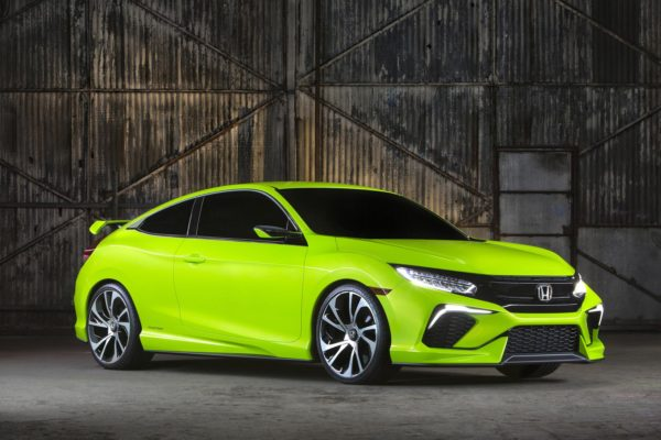 Lean, mean, and green Honda Civic Concept revealed at 2015 New York Auto Show