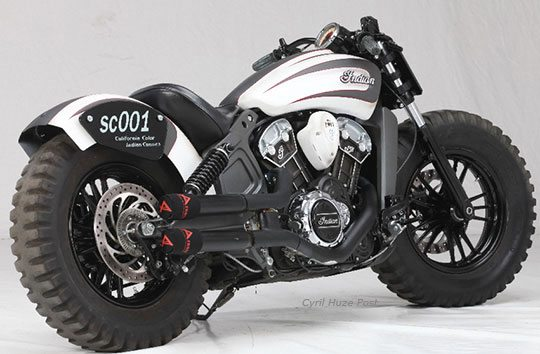 Indian Scout Offroading Motorcycle (2)