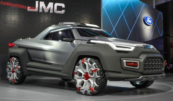 JMC Yuhu Concept at Shanghai Auto Expo - 1
