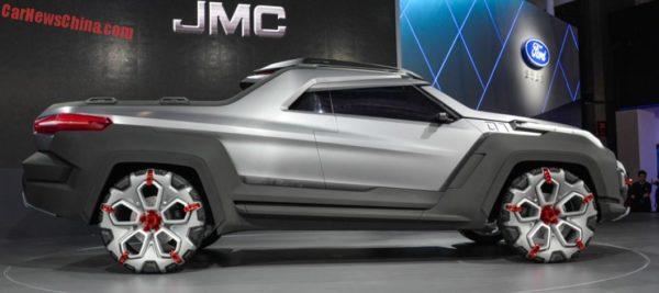 JMC Yuhu Concept at Shanghai Auto Expo - 2