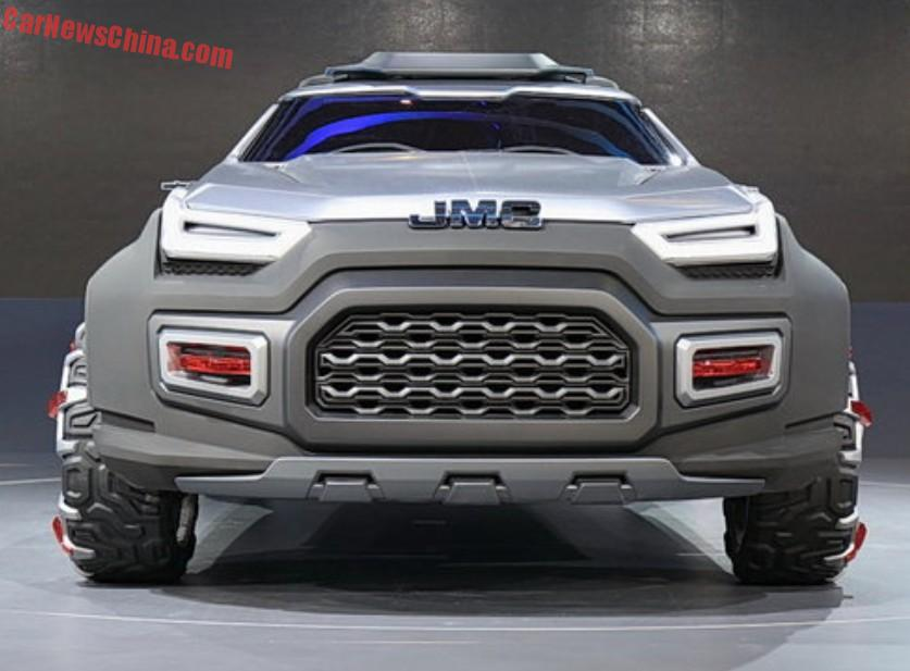 Different Suv Models >> JMC Yuhu Concept unveiled at the 2015 Shanghai Motor Show | Motoroids