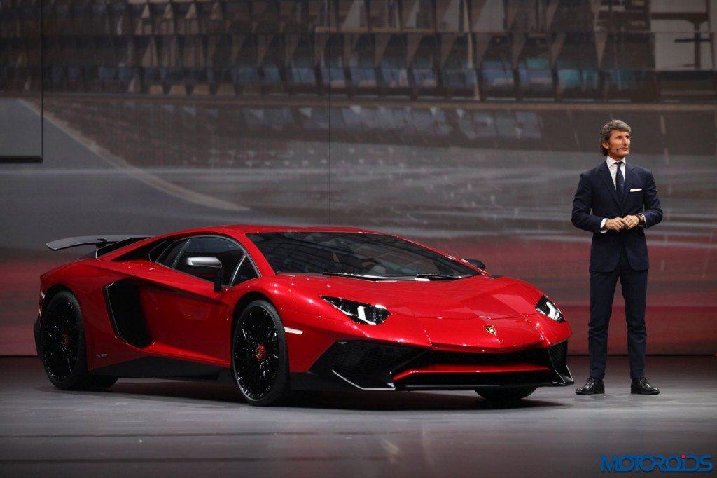 Lamborghini Aventador LP 750-4 shanghai Auto show (1)