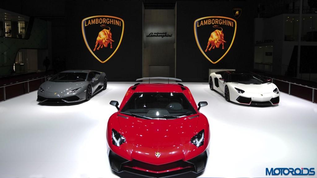 Lamborghini Aventador LP 750-4 shanghai Auto show (2)