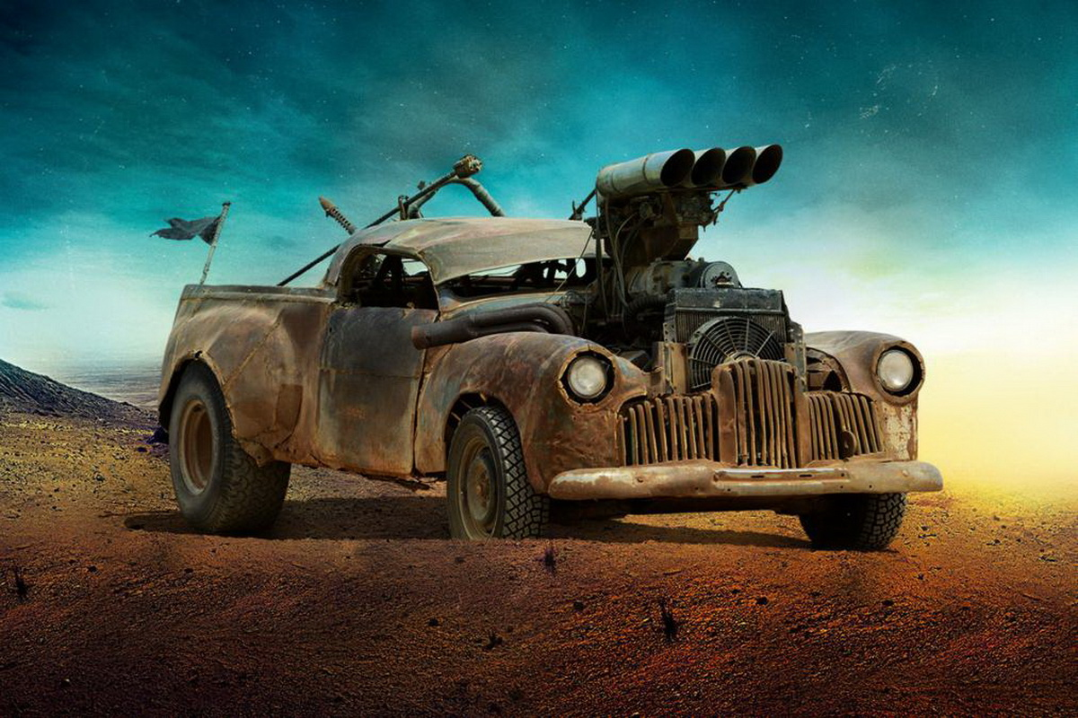 meet the post apocalyptic mutated vehicles of mad max fury road motoroids. Black Bedroom Furniture Sets. Home Design Ideas