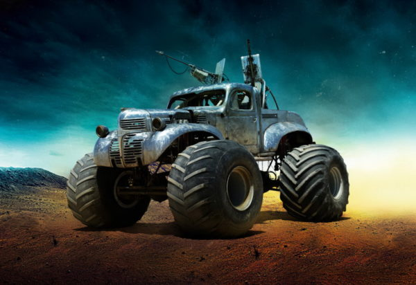 Mad Max Fury Road - The Big Foot