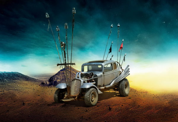 Mad Max Fury Road - The Nux Car