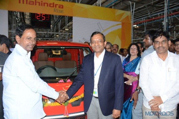 Mahindra inaugurates extended automotive (1)