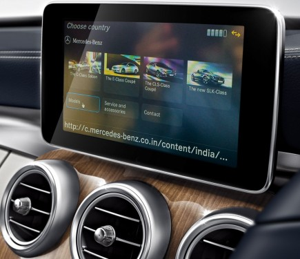 Mercedes benz apps with comand online launched in india for Mercedes benz apps