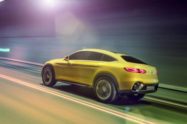 Mercedes-Benz Concept GLC Coupé; Lack: Solarbeam