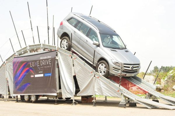 Mercedes-Benz GL-Class at LuxeDrive Bengaluru