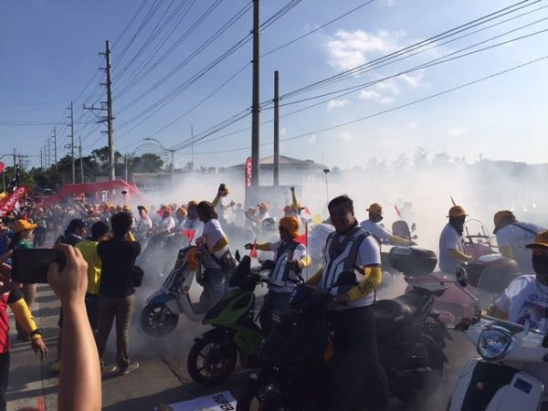 Motorcycle Burnout Guinness Record Philippines (1)