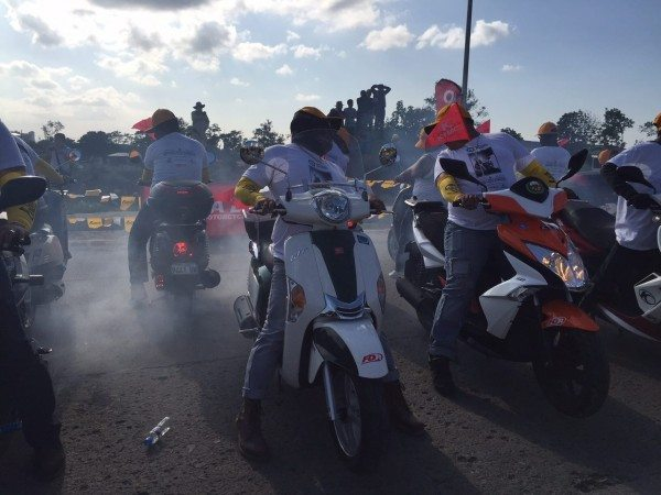 Motorcycle Burnout Guinness Record Philippines