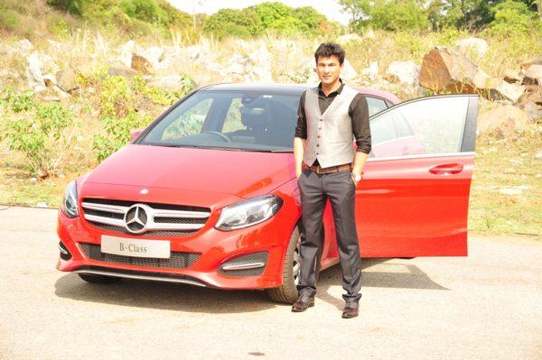 Mr. Vikas Khanna at LuxeDrive Bengaluru