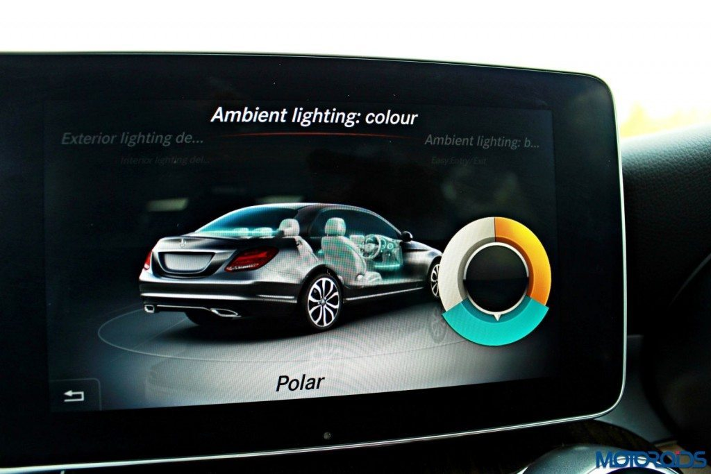 New Mercedes C Class screen (12)