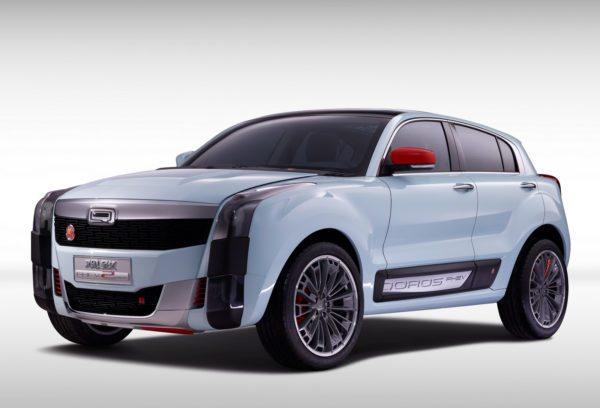 Qoros 2 SUV PHEV Concept (1)