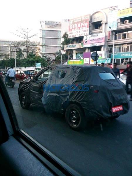 Renault XBA spy photo (2)