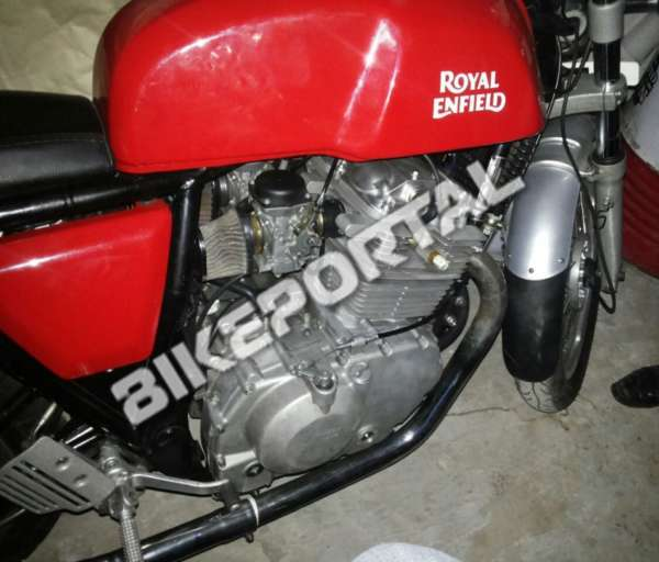 Royal Enfield - 750cc Engine - Spy Images - 1