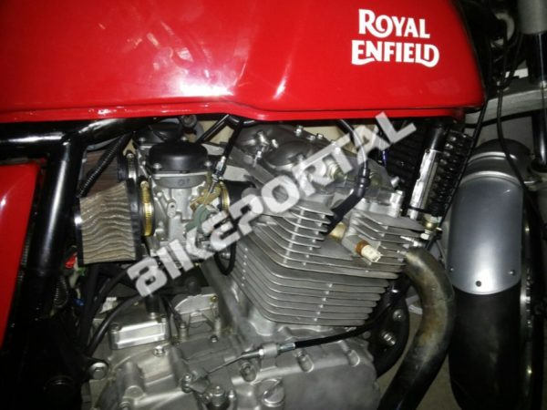 Royal Enfield - 750cc Engine - Spy Images - 4