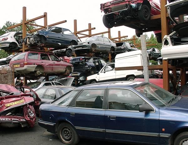 Scrapyard cars