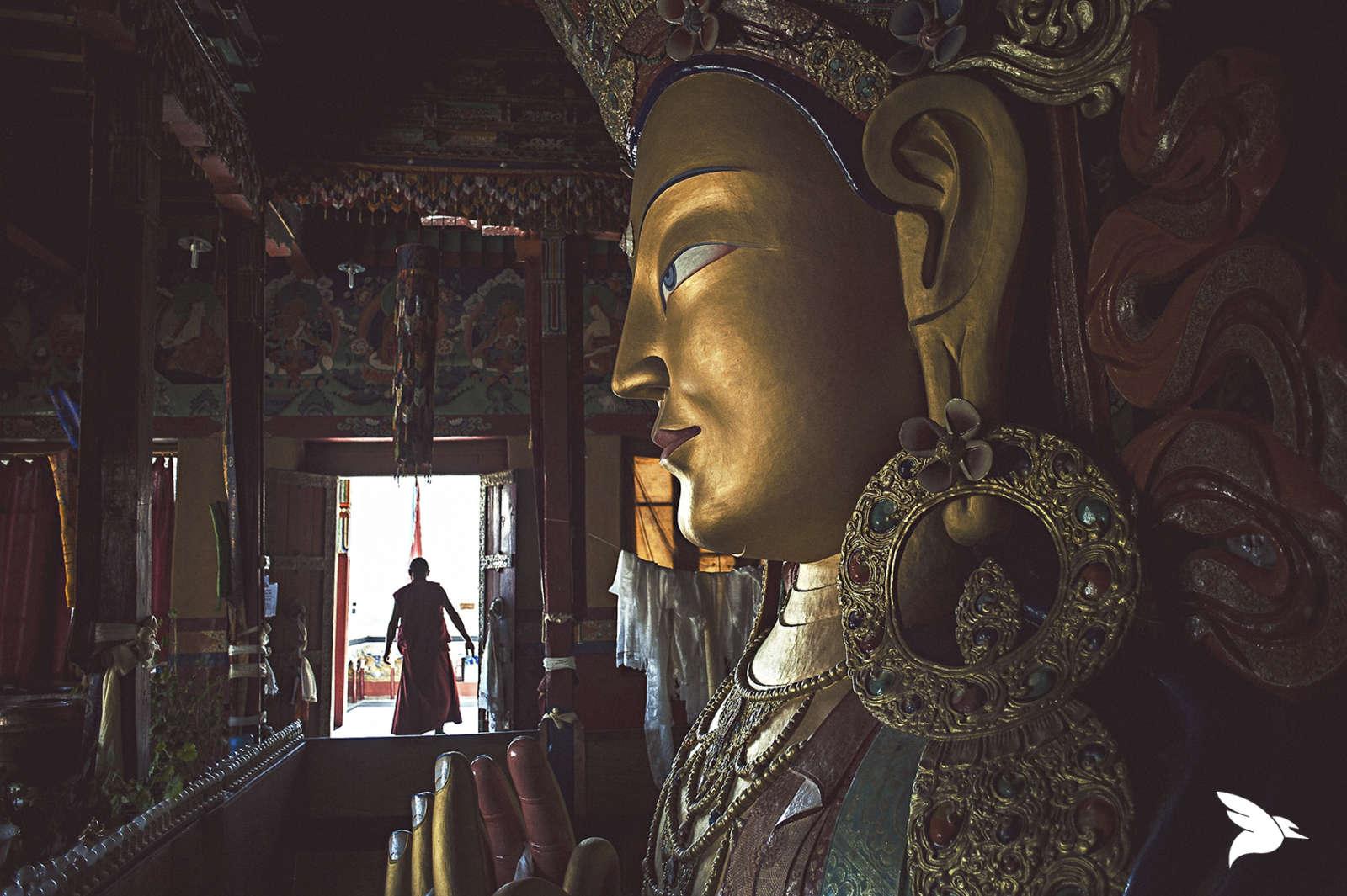 Send It Sideways buddha