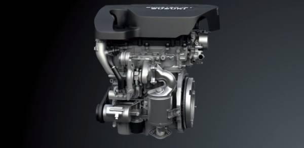 Suzuki 1.4-liter boosterjet