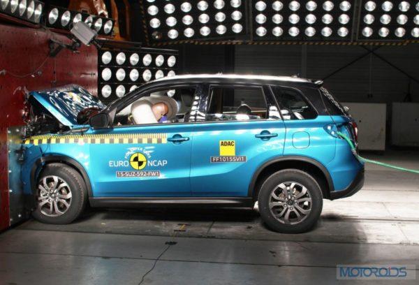 Suzuki Vitara Euro NCAP Rating - 3
