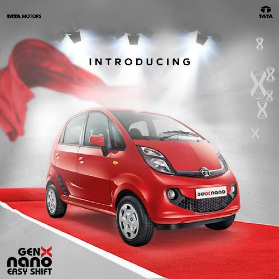 Tata Nano Genx Bookings Open At Inr 5000 Motoroids