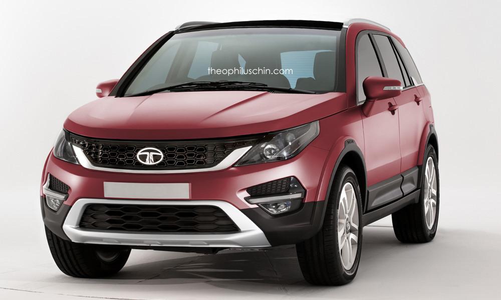 Tata land rover suv render 3 for Tata motors range rover