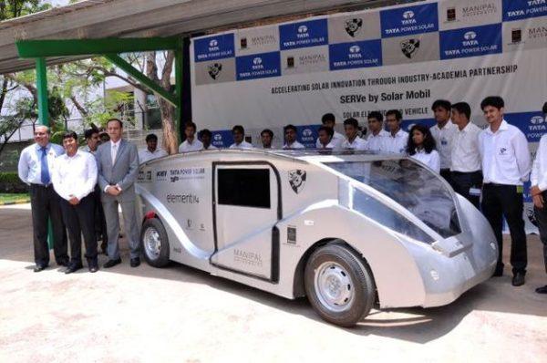SERVe solar car