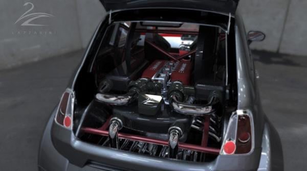 V8 powered Fiat 550 Prototipo Uno (11)