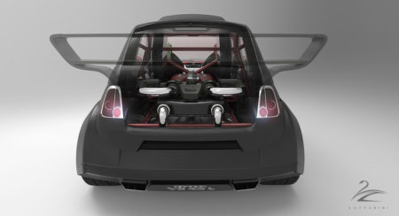 V8 powered Fiat 550 Prototipo Uno (4)